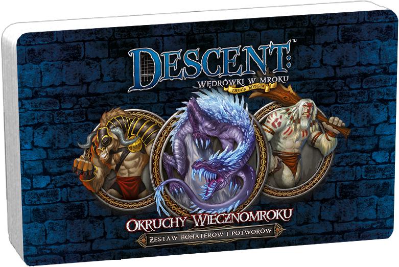 Descent: Wędrówki w Mroku - Okruchy wiecznomroku - Zestaw Bohaterów i Potworów