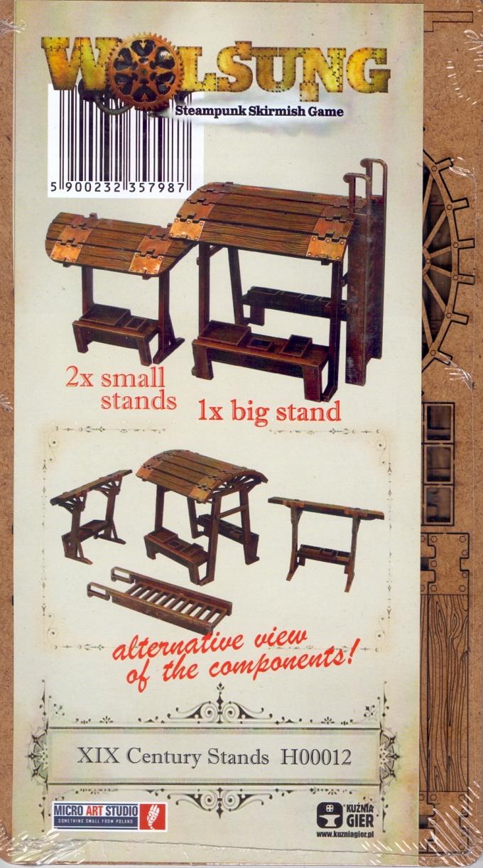 XIX Century Stands