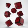 Komplet krasnoludzki - Czarno-czerwony