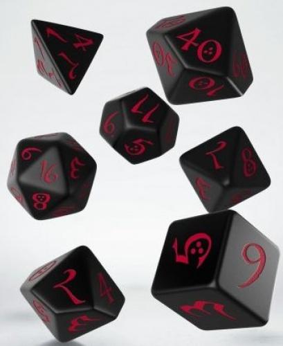 Komplet klasyczny - Czarno-czerwony