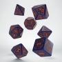 Komplet kości - Starfinder: Dead Suns - Niebiesko-pomarańczowy