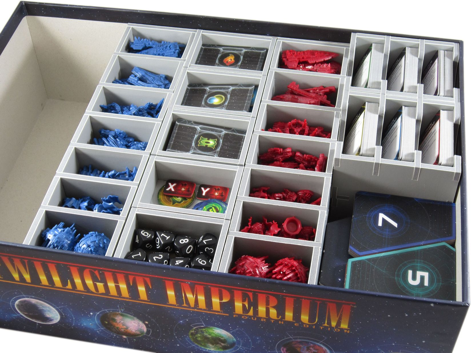 Folded Space: Board Game Organiser - Twilight Imperium 4th Edition