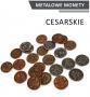 Metalowe Monety - Cesarskie (zestaw 24 monet)