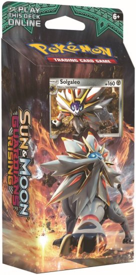 Pokemon: Sun & Moon - Guardians Rising - Steel Sun Theme Deck