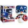 Funko POP Marvel: Holiday S2 - Capt America 8