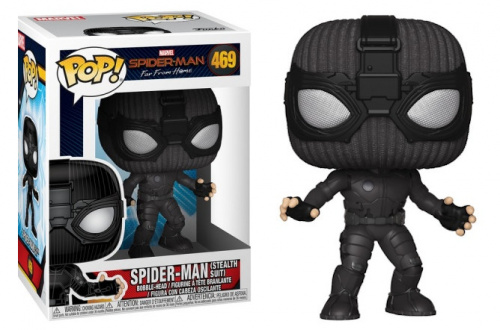 Funko POP Movies: Spider-Man Far From Home - Spider-Man (Stealth Suit)