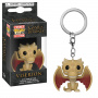Funko Pop Keychain: GOT S10 - Regular Viserion