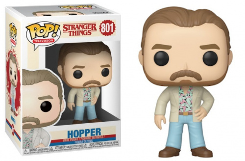 Funko POP TV: Stranger Things S3 - Hopper (Date Night)