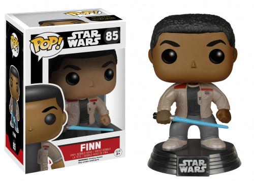 Funko POP Star Wars Bobble: E7 - Finn w/ Lightsaber (Exc)