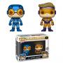 Funko POP DC 2 Pack: Blue Beetle & Booster Gold Metallic (Exc) (CC)