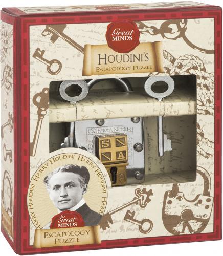 Łamigłówka Great Minds - Houdini's Escapology Puzzle